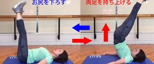 レッグリフトの効果とやり方!腹筋を鍛える筋トレメニュー