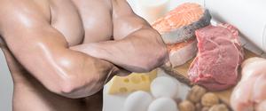 筋肉は食事を見直すと作れる?筋肉とたんぱく質の意外な関係とは!?