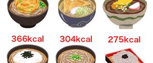 とろろそばのカロリーは?ダイエット向き?糖質・脂質・タンパク質比較
