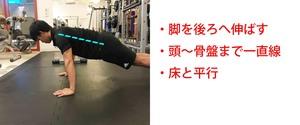 腕立て伏せで腹筋・大胸筋・背筋にしっかり効かせる方法!