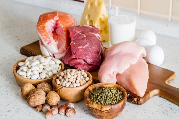 様々なタンパク質の食材