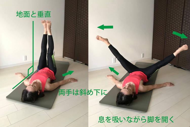 内もも痩せに効果的なレッグアダクション