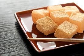 わらび餅の画像