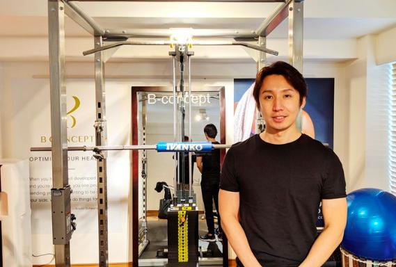 田代直矢 代表トレーナー