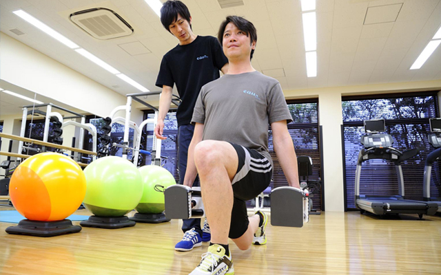 eau 渋谷のパーソナルトレーニングジム